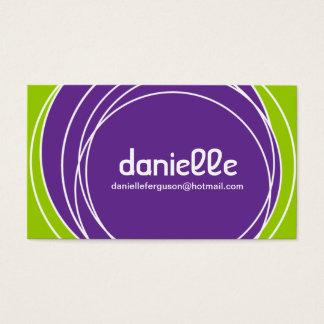 Retro Profile Card - Business Card