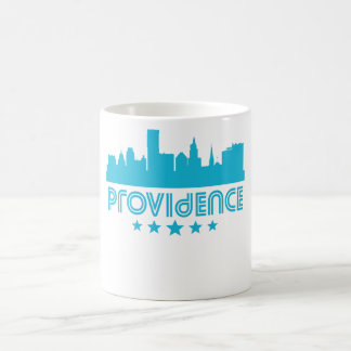 Retro Providence Skyline Coffee Mug