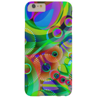 Retro Psychedelic Abstract Barely There iPhone 6 Plus Case