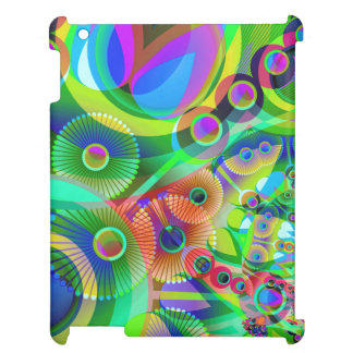 Retro Psychedelic Abstract iPad Covers