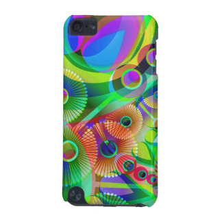 Retro Psychedelic Abstract iPod Touch 5G Case