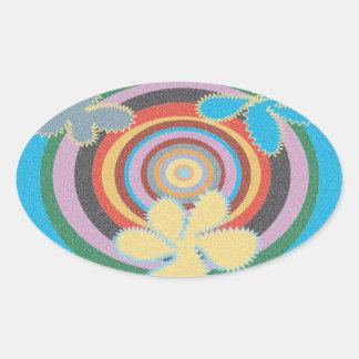 Retro Psychedelic Sticker