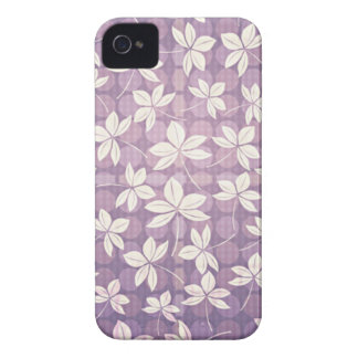 Retro Purple Paradise iPhone 4 Case-Mate Case
