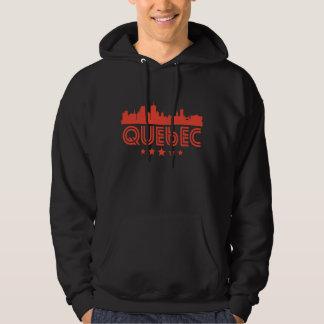 Retro Quebec Skyline Hoodie