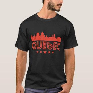 Retro Quebec Skyline T-Shirt