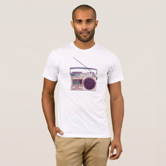 Retro Radio Boombox T-Shirt