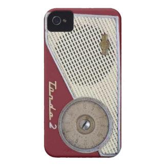 retro radio iPhone 4 case