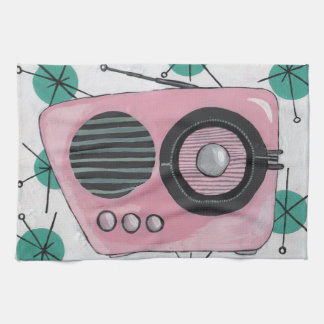 Retro Radio Kitchen Towel