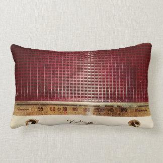 Retro radio lumbar pillow
