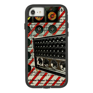 Retro Radio speaker Short Wave Radio Case-Mate Tough Extreme iPhone 8/7 Case