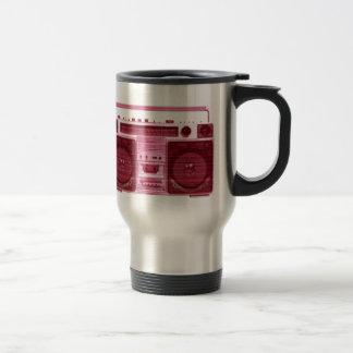 retro radio travel mug