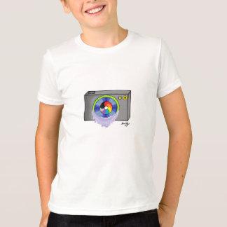 Retro Rainbow Camera T-Shirt