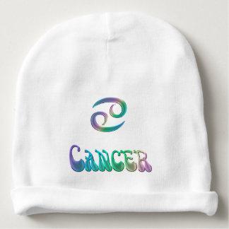 Retro Rainbow Zodiac Sign Cancer Baby Beanie