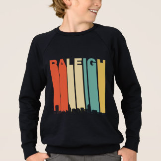 Retro Raleigh North Carolina Skyline Sweatshirt