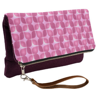 Retro Raspberry Clutch