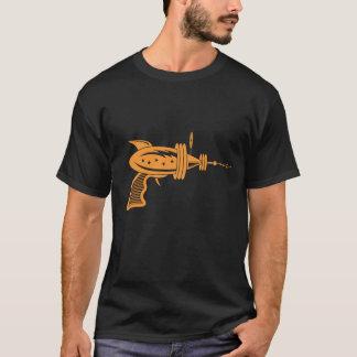 Retro Ray Gun in Orange T-Shirt