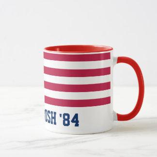 Retro Reagan Bush '84 American Flag