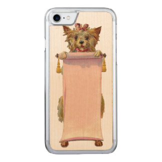 RETRO REBEL Dog iPhone 5/5S Slim Wood Carved iPhone 7 Case