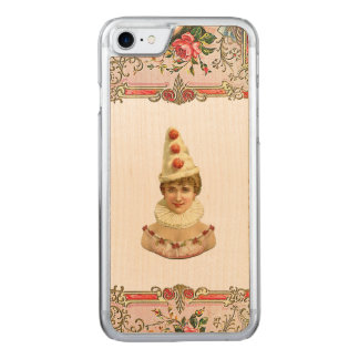RETRO REBEL Pretty Pierrot Woman iPhone 5/5S Slim Carved iPhone 7 Case