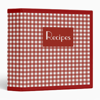 Retro Recipe Binder