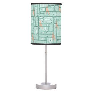 Retro Rectangles Table Lamp