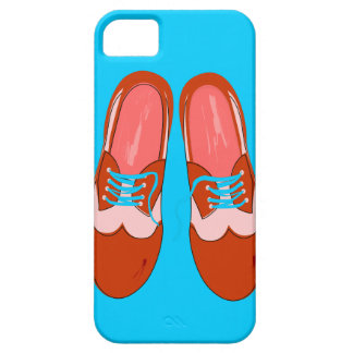 Retro Red Shoes iPhone 5 Case
