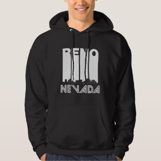 Retro Reno Nevada Skyline Hoodie