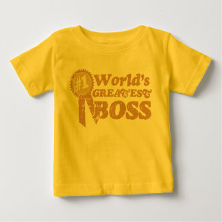 Retro Ribbon World's Greatest Boss... Tees