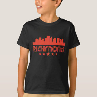 Retro Richmond Skyline T-Shirt