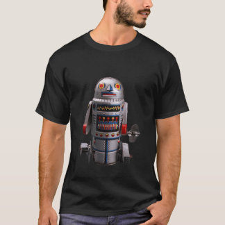 RETRO ROBO TOY Vintage Tin Robot T-Shirt