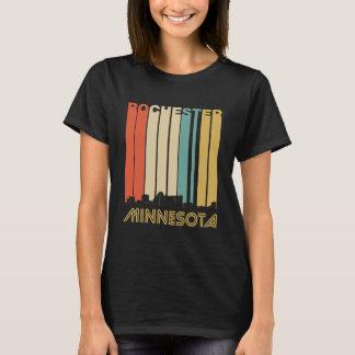 Retro Rochester Minnesota Skyline T-Shirt