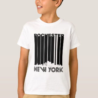 Retro Rochester New York Skyline T-Shirt