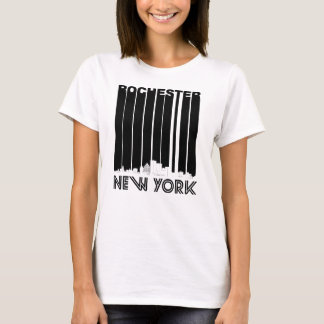 Retro Rochester New York Skyline T-Shirt