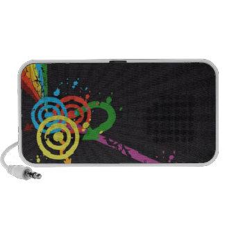 Retro Rock Laptop Speakers