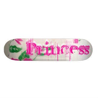 Retro Rock Princess Skateboard