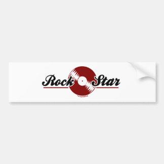 Retro Rock Star Bumper Stickers
