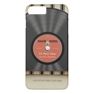 Retro Rock Vinyl LP Record iPhone 8 Plus/7 Plus Case