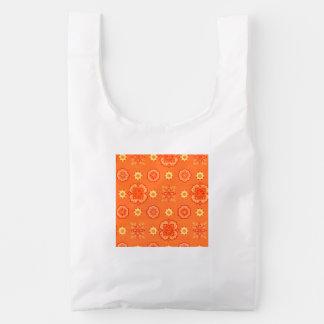 Retro Rockabilly Vintage Bandanna Orange