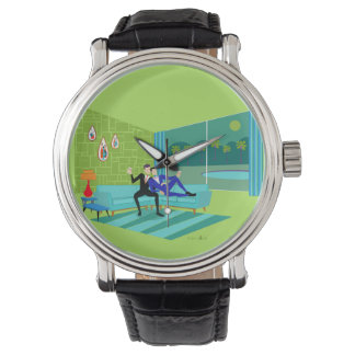 Retro Romantic Gay Couple Watch