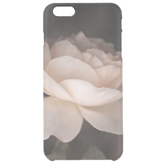 Retro rose clear iPhone 6 plus case