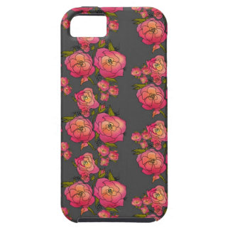 Retro Roses Case For The iPhone 5