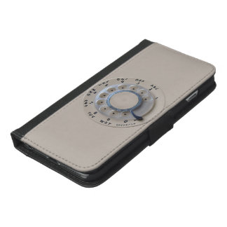 Retro Rotary Phone Dial iPhone 6/6s Plus Wallet Case