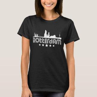 Retro Rotterdam Skyline T-Shirt