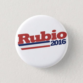 Retro Rubio 2016 1 Inch Round Button