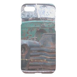 Retro Rusty Chrome Beast iPhone 7 Case