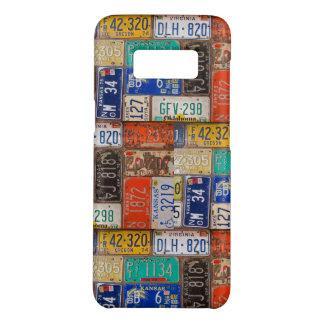 retro rusty license plates Case-Mate samsung galaxy s8 case