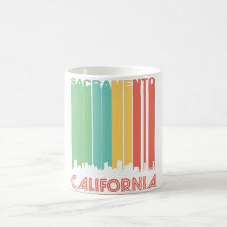 Retro Sacramento Skyline Coffee Mug