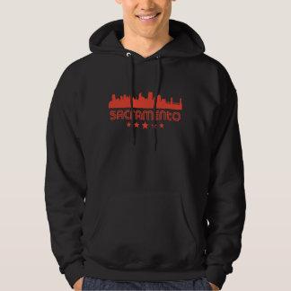 Retro Sacramento Skyline Hoodie