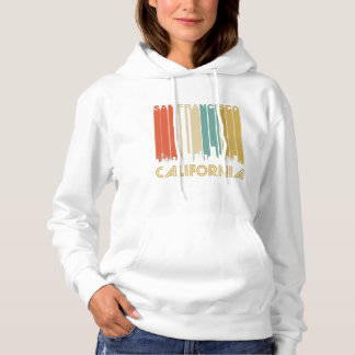 Retro San Francisco Skyline Hoodie