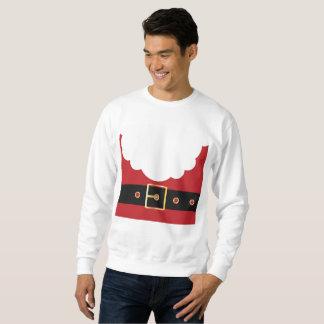 retro santa claus mens sweatshirt